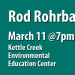Rod Rohrbach to Present at March 11 Chapter Meeting