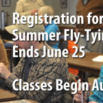 Summer Fly-Tying Classes
