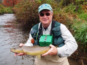 Author and avid fly-fisherman Tom Gilmore will present Pennsylvania's Blue Ribbon Trout Streams at the October 12 Brodhead Chapter of TU meeting.