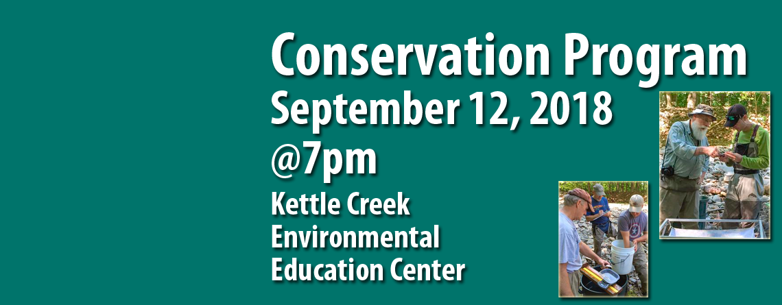 September 12 Chapter Meeting Features Conservation District News, Conservation Camps and More