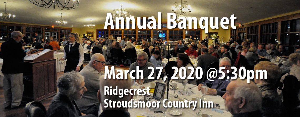 Tickets Available for 22nd Annual Brodhead Trout Unlimited Banquet